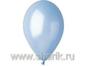 "И 14""/35 Металлик Light Blue Ассорти из шаров"