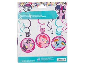 Спираль My Little Pony 46-60см 6шт/A Ассорти из шаров