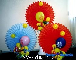 23 февраля, 8 марта, 9 мая 2. Фотографии.  Оформление шарами.  Портфолио.